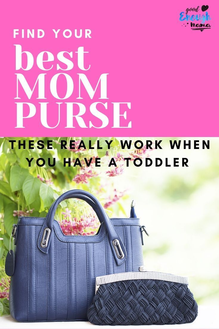 Finally ready to ditch the diaper bag? Check out our favorite picks of mom purses, which one is your favorite? #mompurse #momlife #Motherhood #momtips #momhacks #adviceformoms #newmom #celebratemotherhood #goodenoughmama