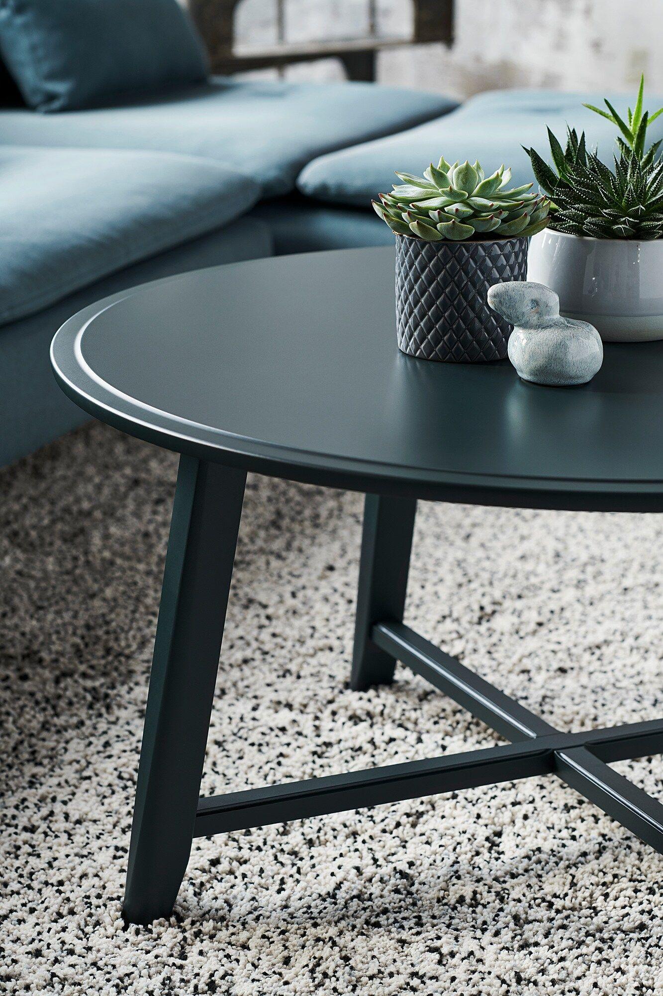 Kragsta Sofabord Sort 90 Cm Ikea Coffee Table Coffee Table Wood Black Coffee Tables [ 2000 x 1333 Pixel ]