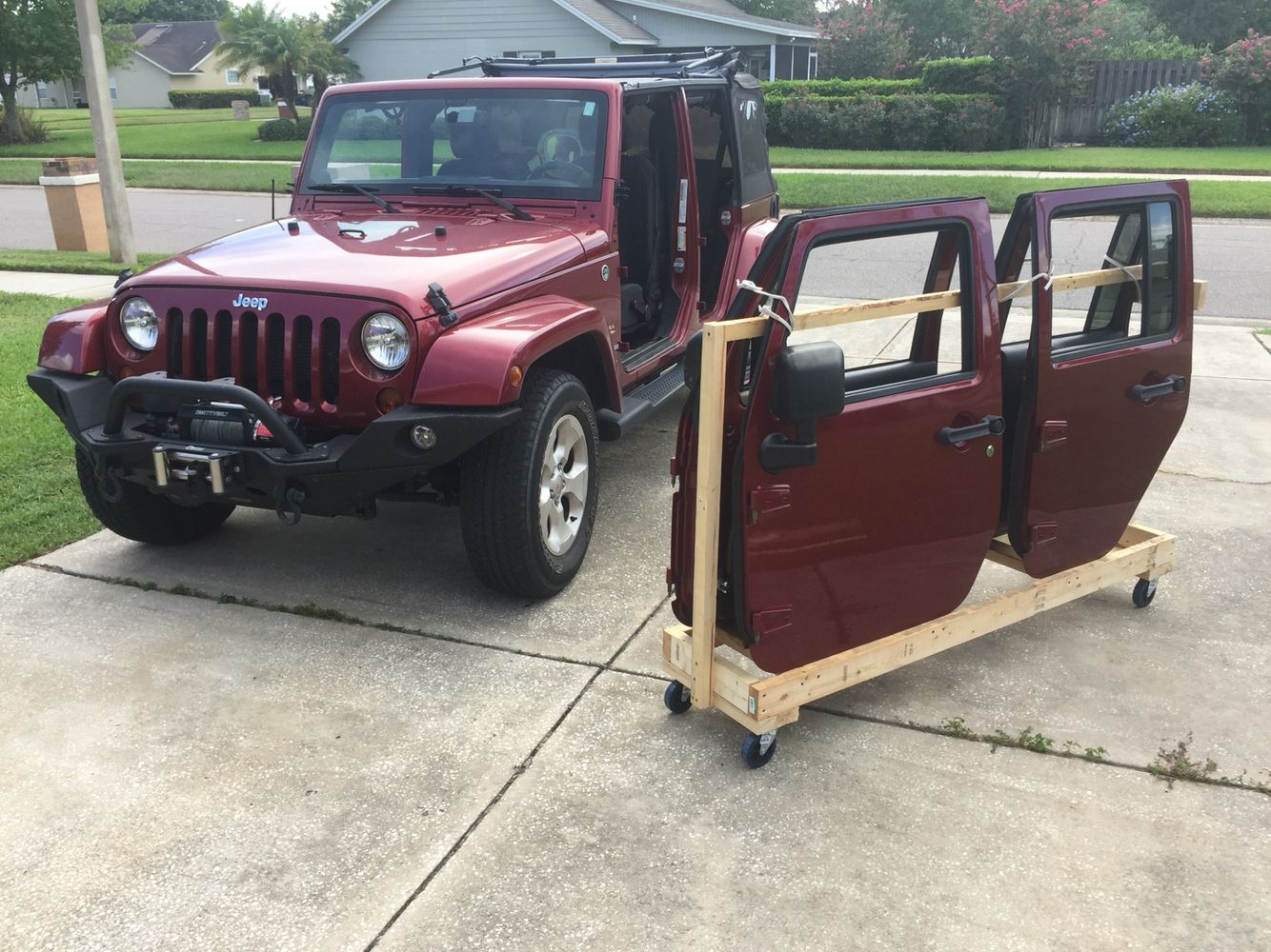 Jeep Wrangler Door Storage Jeep Wrangler Doors Jeep Doors Jeep
