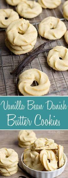 Traditional Danish B Traditional Danish Butter Cookies recipe...  Traditional Danish B Traditional Danish Butter Cookies recipe made with vanilla beans. Crisp buttery melt in your mouth delicious a recipe everyone will love Recipe : http://ift.tt/1hGiZgA And @ItsNutella  http://ift.tt/2v8iUYW