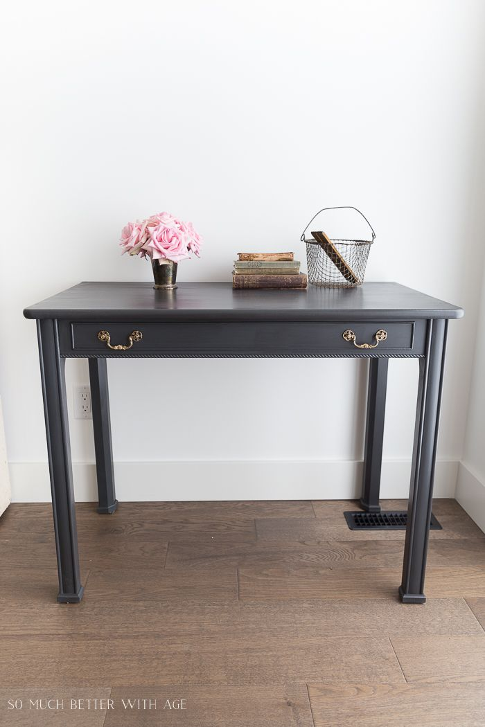 how to make a desk from an extendable table desk redo on beautiful home desk organization ideas make comfortable what it will do for you id=67627