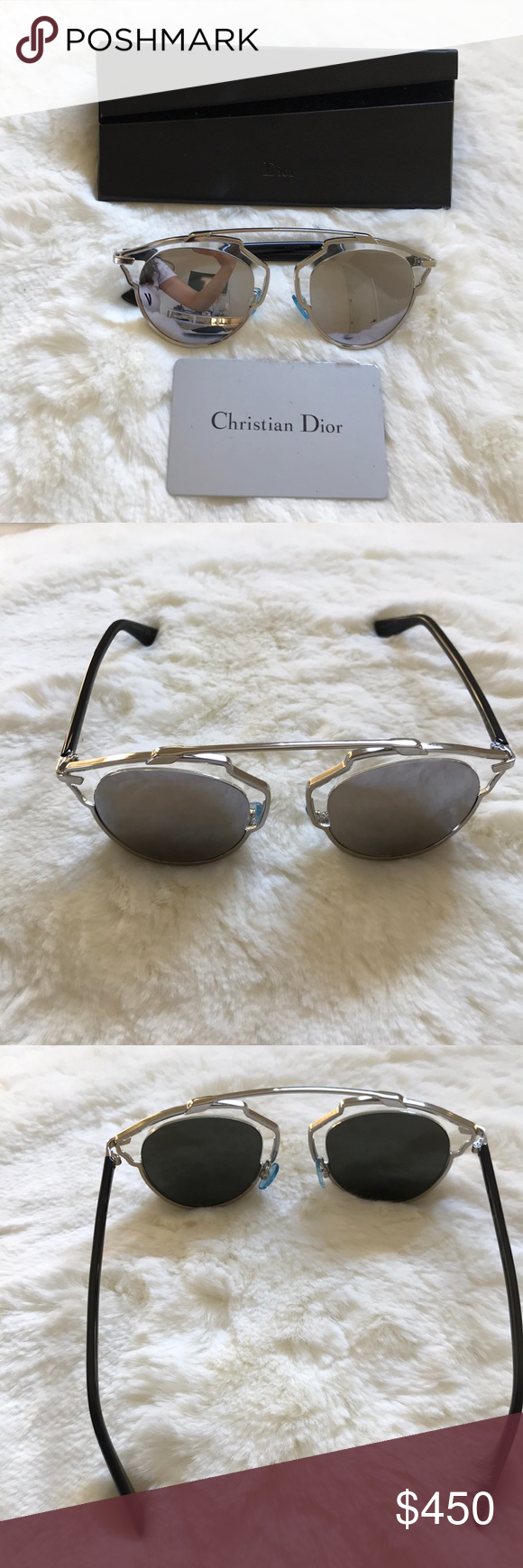 82cdd8e4ae01 Dior so real sunglasses 100% Authentic (see authenticity card) never used  Dior's