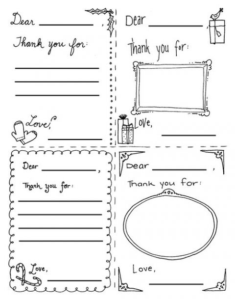 graphic regarding Printable Thank You Cards for Students known as little ones coloring-thank by yourself playing cards -absolutely free printable Effort and hard work Thank