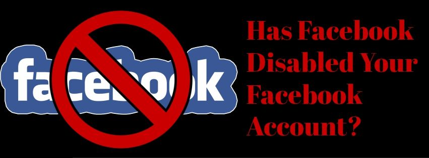 Has facebook deleted your user account and you want to