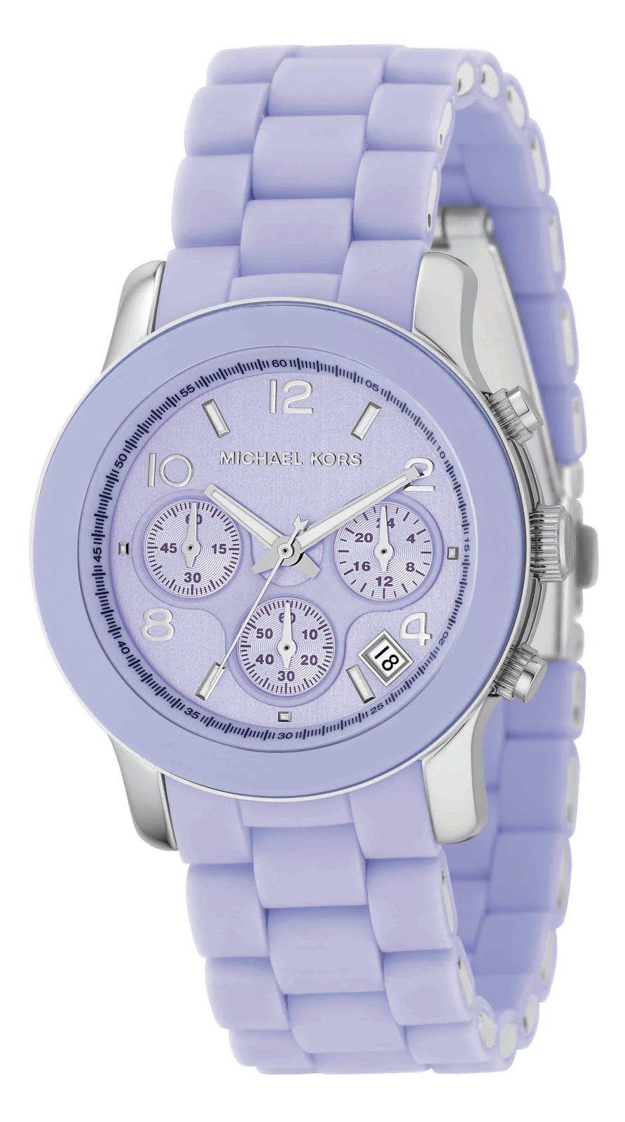 dc1cb3d4e325 Michael Kors Chrono Silicone Baby Blue Women s Watch MK-5234 ...