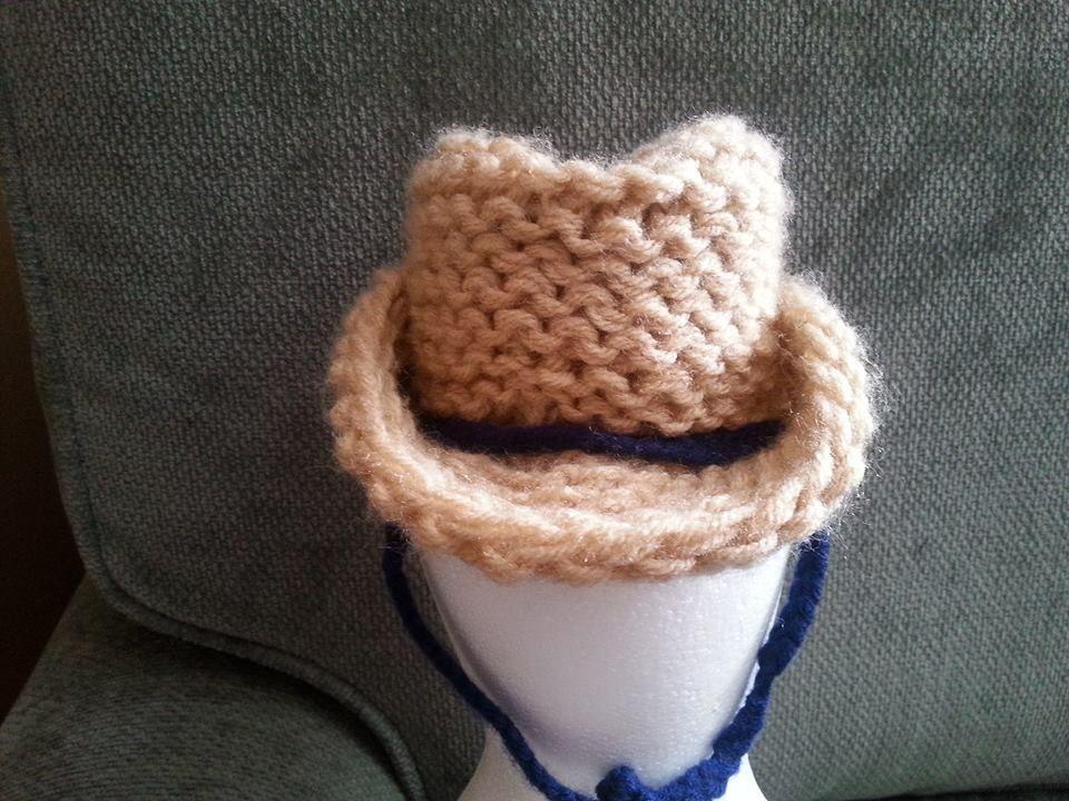Loom Knit Cowboy Hat | Cowboys, Loom knitting and Knifty knitter