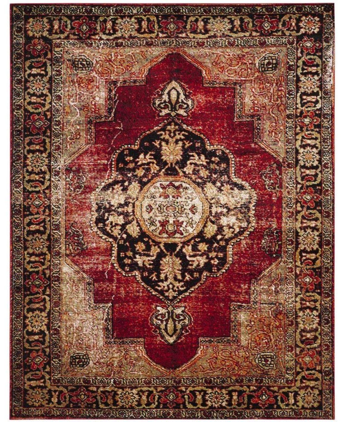 Safavieh Vintage Hamadan Red And Multi