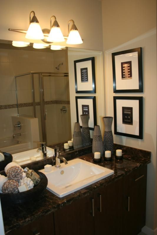 Guest Bathroom Sink Design