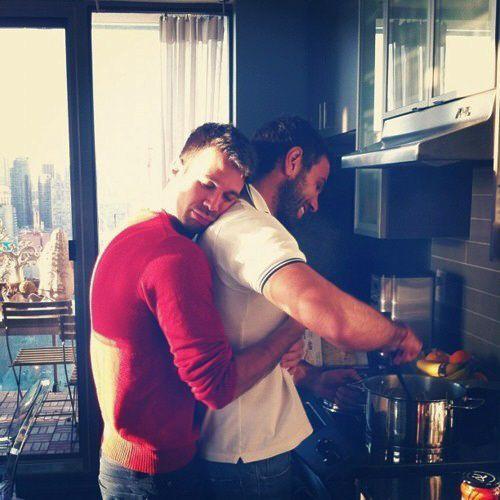 Teen Love Hug Cook