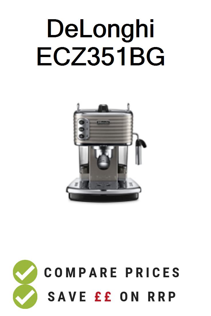 DeLonghi ECZ351BG UK Prices. DeLonghi Scultura ECZ351BG