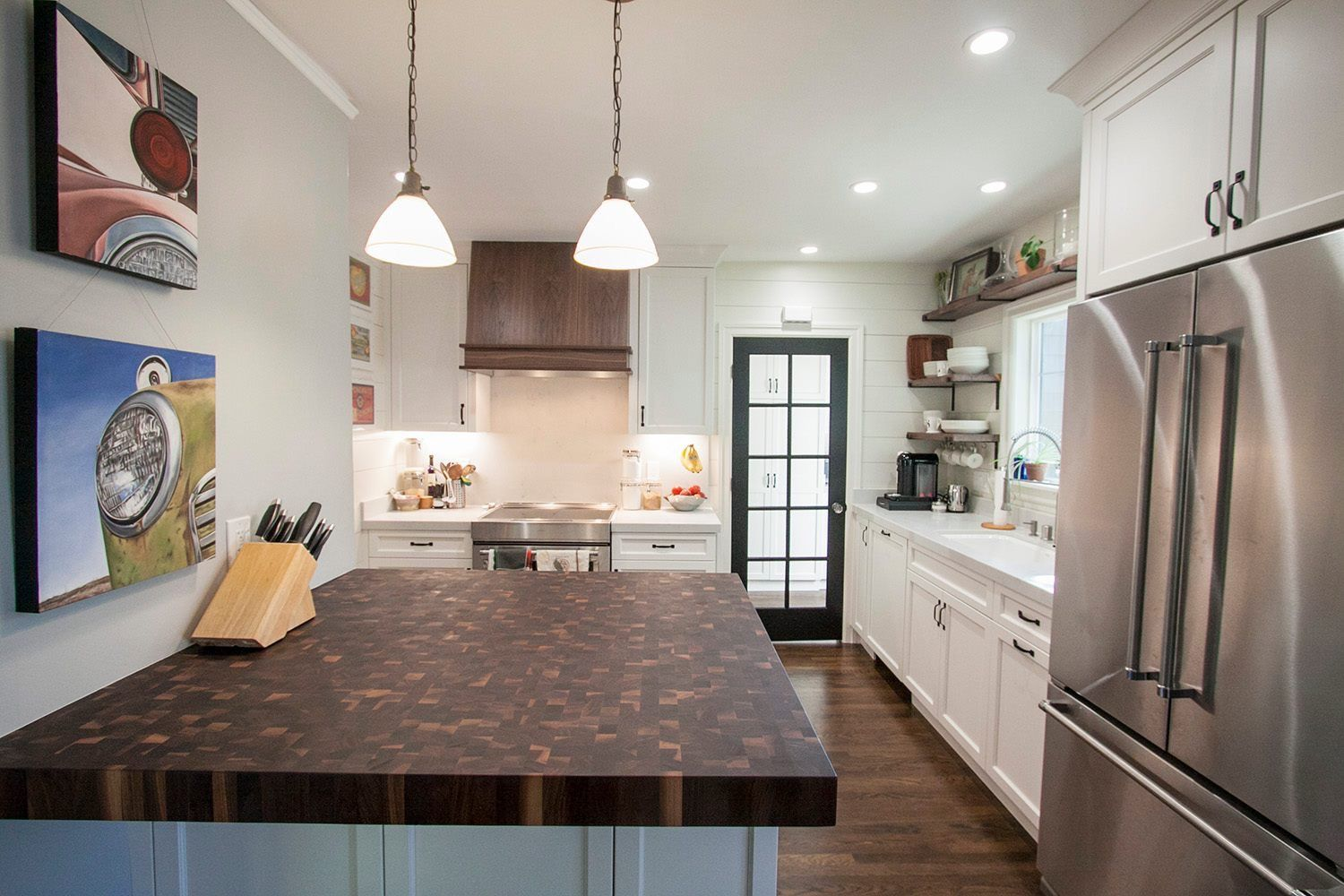 End Grain Rustic Walnut Butcher Block Countertop Customize Online Walnut Butcher Block Countertops Butcher Block Countertops Countertop Design