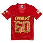 Victoria S Secret Kansas City Chiefs Bling Football Tee Kc Chiefs Shirts Kansas City Chiefs Chiefs Shirts