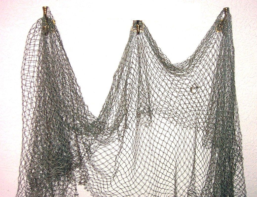 fish net nautical fishing decor