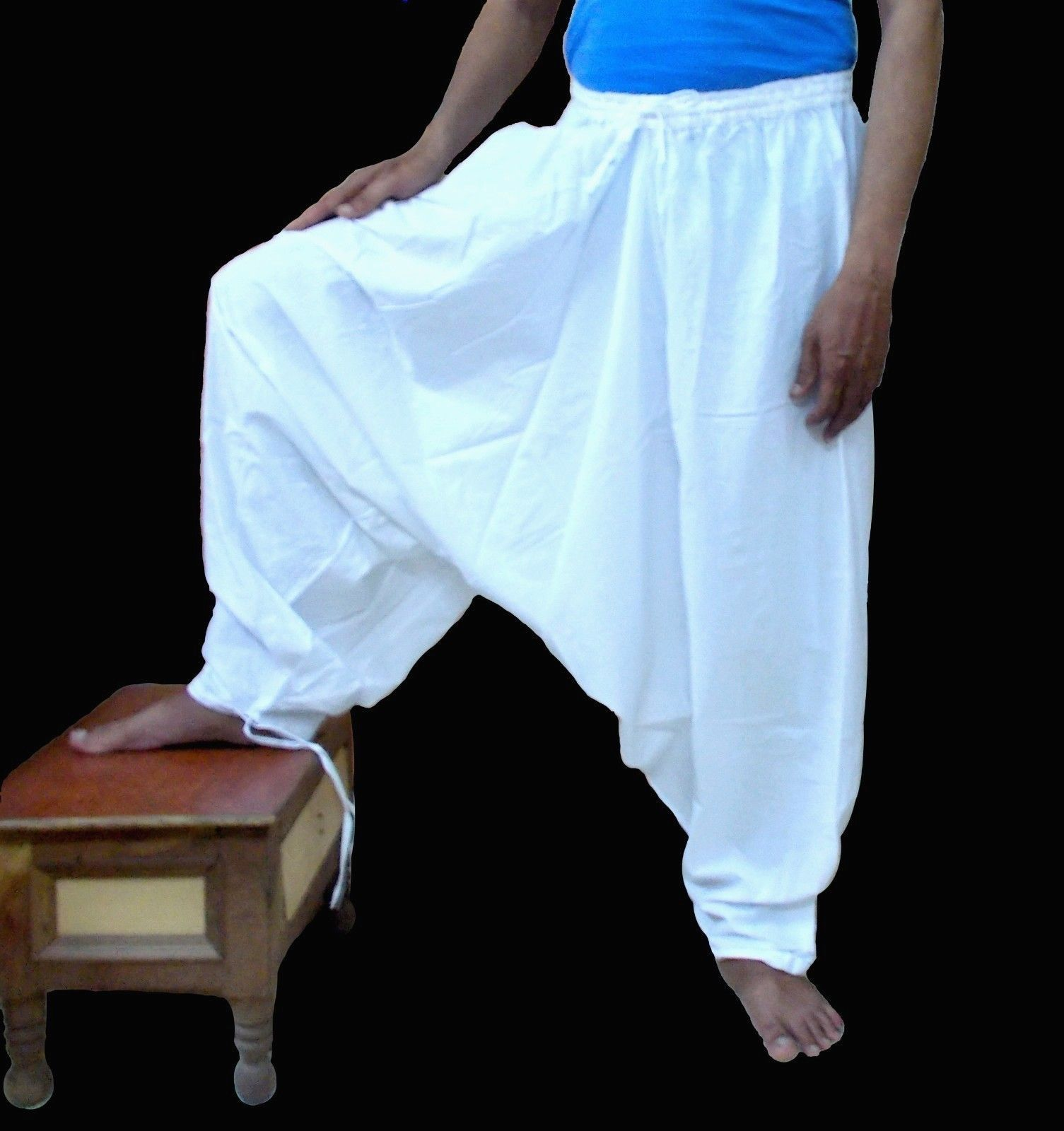 http://i.ebayimg.com/t/Mens-Cotton-White-Harem-Pants-Trousers ...