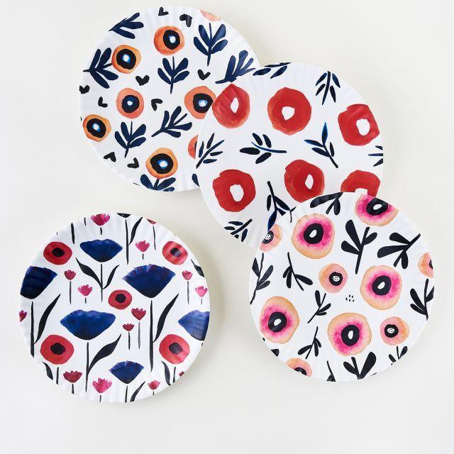 Poppy Paper Napkins - 20 per package #papernapkins