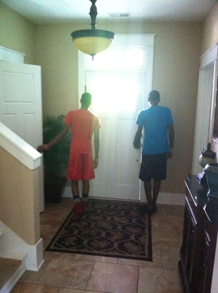 My teenage boys