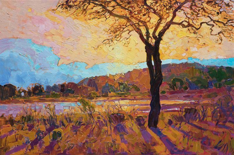 Austin Texas Landscape Oil Painting For Sale By Contemporary Impressionism Painter Er Contemporary Impressionism Oil Painting Landscape Fine Art Prints Artists