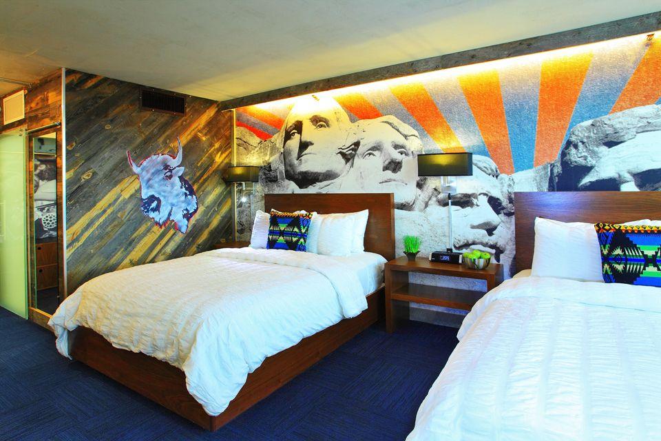 Rapid City Sd Adoba Eco Hotel Near Mount Rushmore Designed By Antonio Ballatore Of Hgtv S Design Star