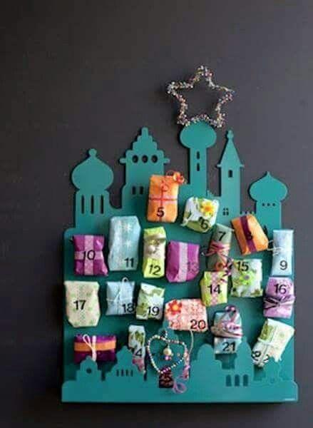 هدية صيام كل يوم فى شهر رمضان Diy Advent Calendar Christmas Advent Calendar Diy Ramadan Crafts