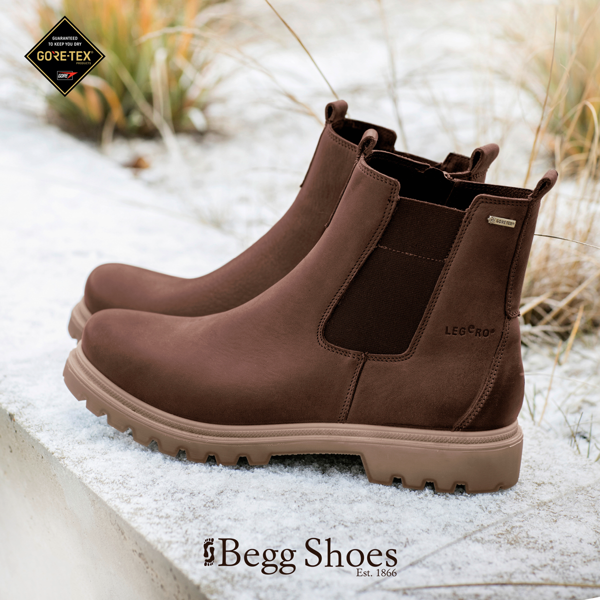 0966331 monta gore tex Chelsea ankelstøvler, støvler  Chelsea ankle boots, Boots
