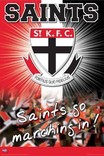 Saints Afl Australian Football League Football Logo