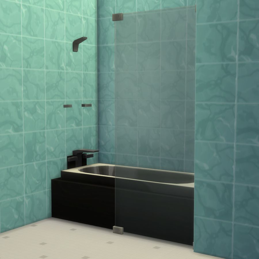 Make your own tub and shower combos! | The Sims 4 (Cps) | Pinterest ...