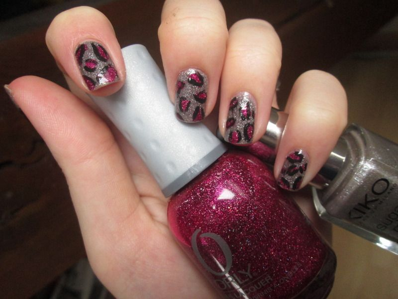 Pink Textured Leopard by GangOfPolish