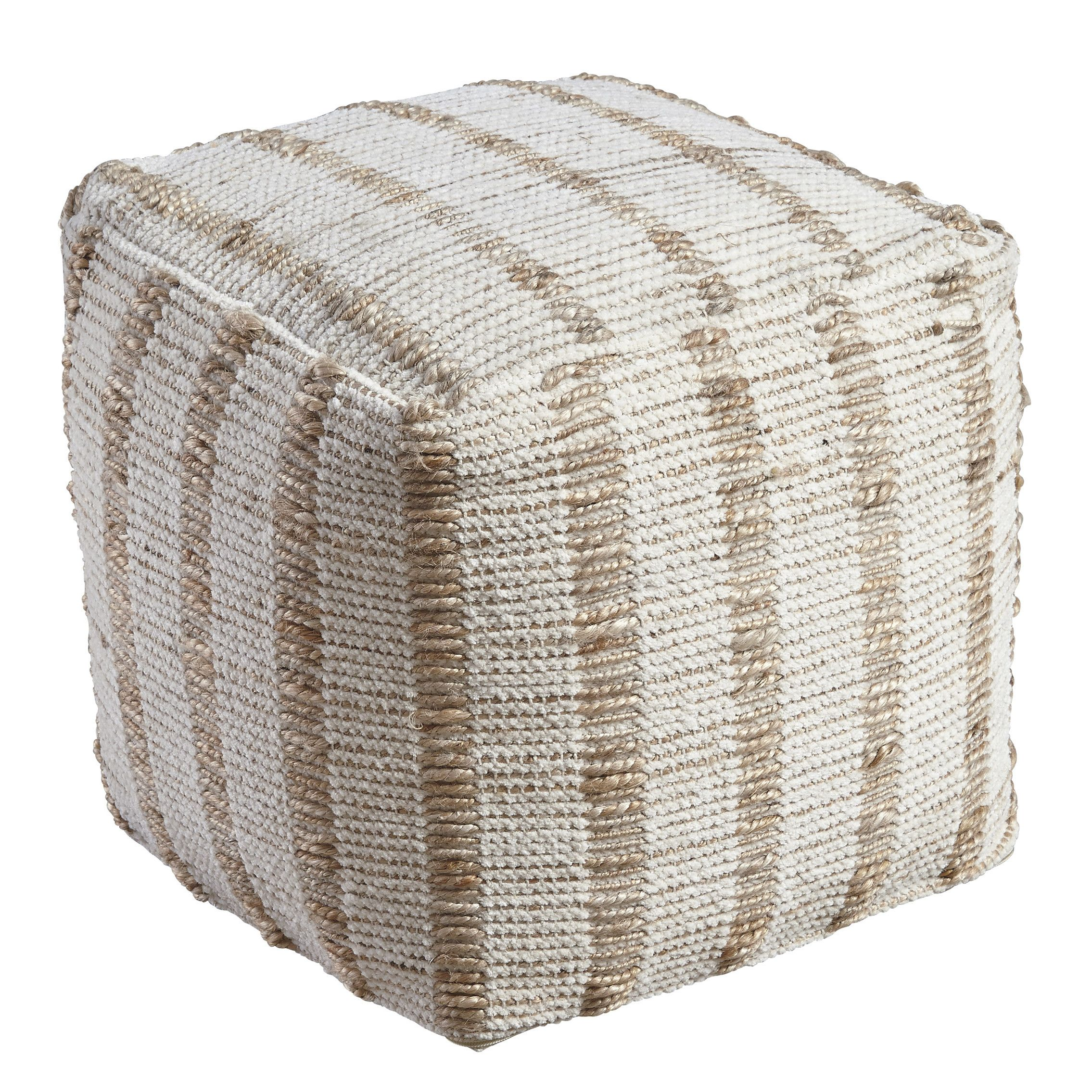 taylor garden product pouf nomad shipping the free curated park ottoman poof round today aptos madison home overstock