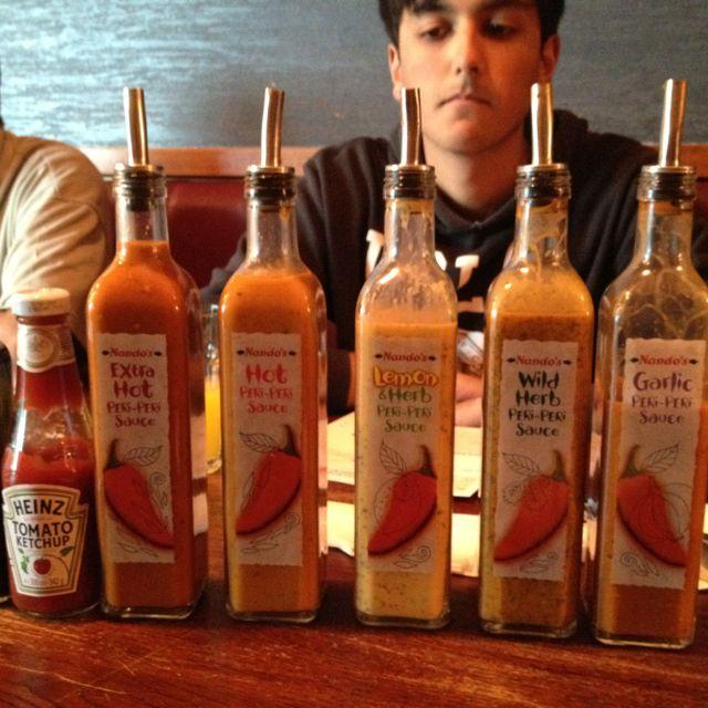Nandos sauces