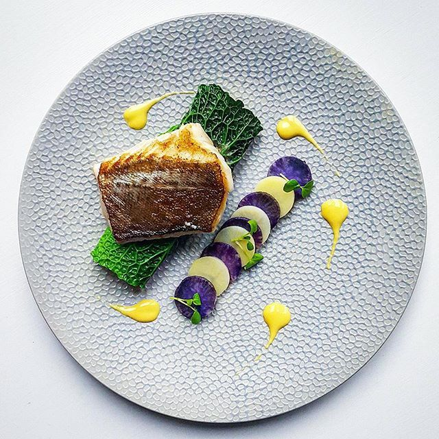 Pin by v v veneto on restaurants hotels chateaux pinterest video channel food plating food presentation cod purple image saint jacques poelees la nature flower food forumfinder Image collections