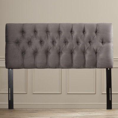 House of Hampton Handley Upholstered Headboard & Reviews | Wayfair