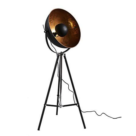 Belle Boudoir | ACHICA | Floor lamp, Gold tripod floor lamp