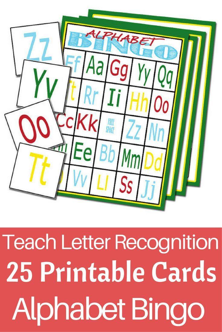 Fun way to teach kids their abcs alphabet bingo 25 cards fun way to teach kids their abcs alphabet bingo 25 cards printable alphabet spiritdancerdesigns Image collections