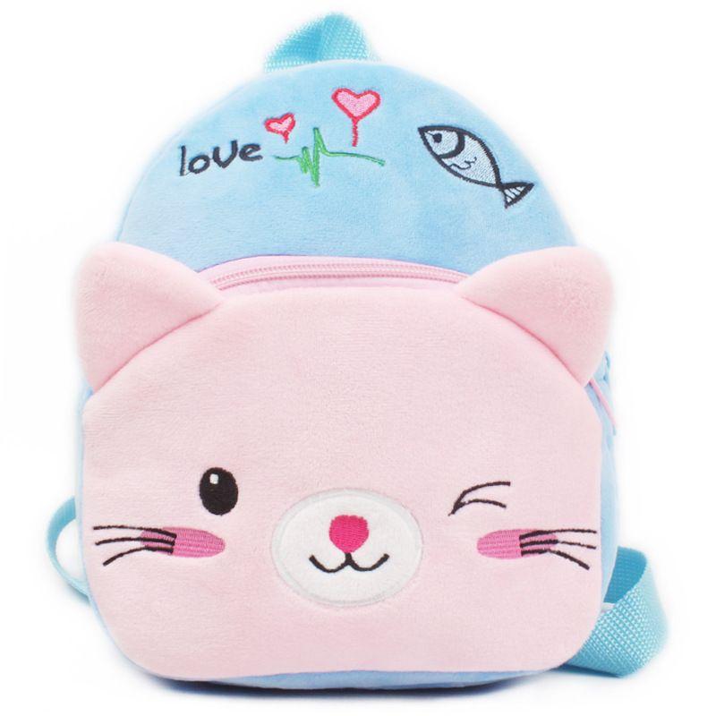 Cute Cartoon Plush Children Backpacks Girl Mini Kids Boy School Bags Baby  School Bag Kindergarten Infant Backpacks Gift for Kids 6f0f93201e8bd