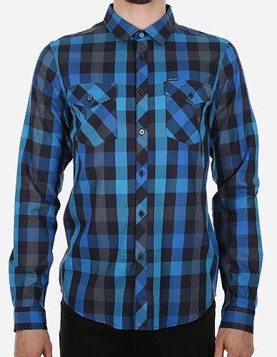iriedaily - Valle LS Shirt dark blue