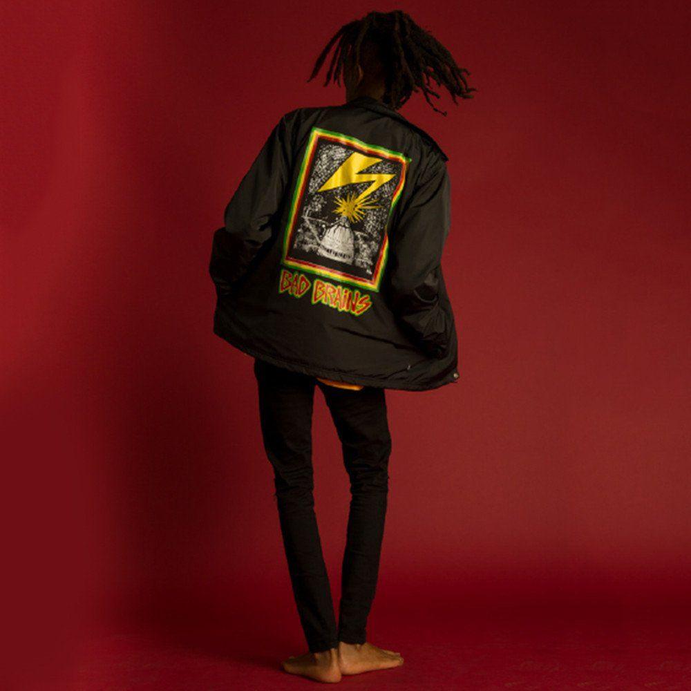 9cb3faa306597 Obey: Bad Brains Captial Jacket - Black   Jackets/Hoodies/Sweaters ...