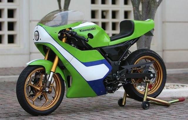 Gary Nixon Kawasaki H2 race bike replica 300 Ninja project ...