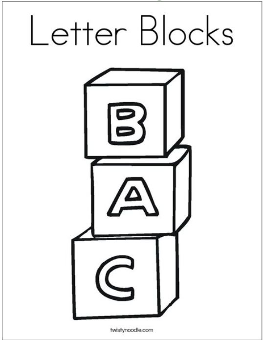 Used These Pages To Create A Coloring Book Lettering Block Lettering Coloring Pages
