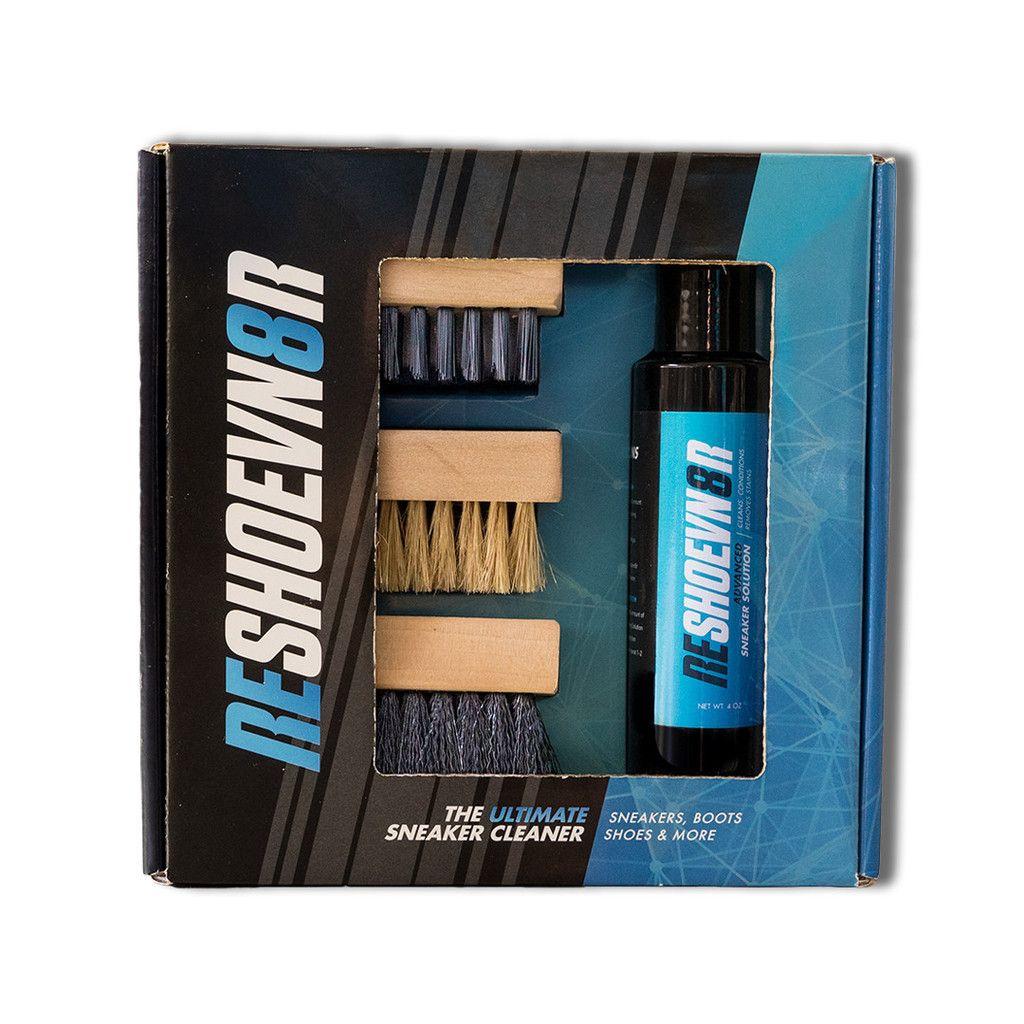 4 oz. 3 brush shoe cleaning kit | Shoe