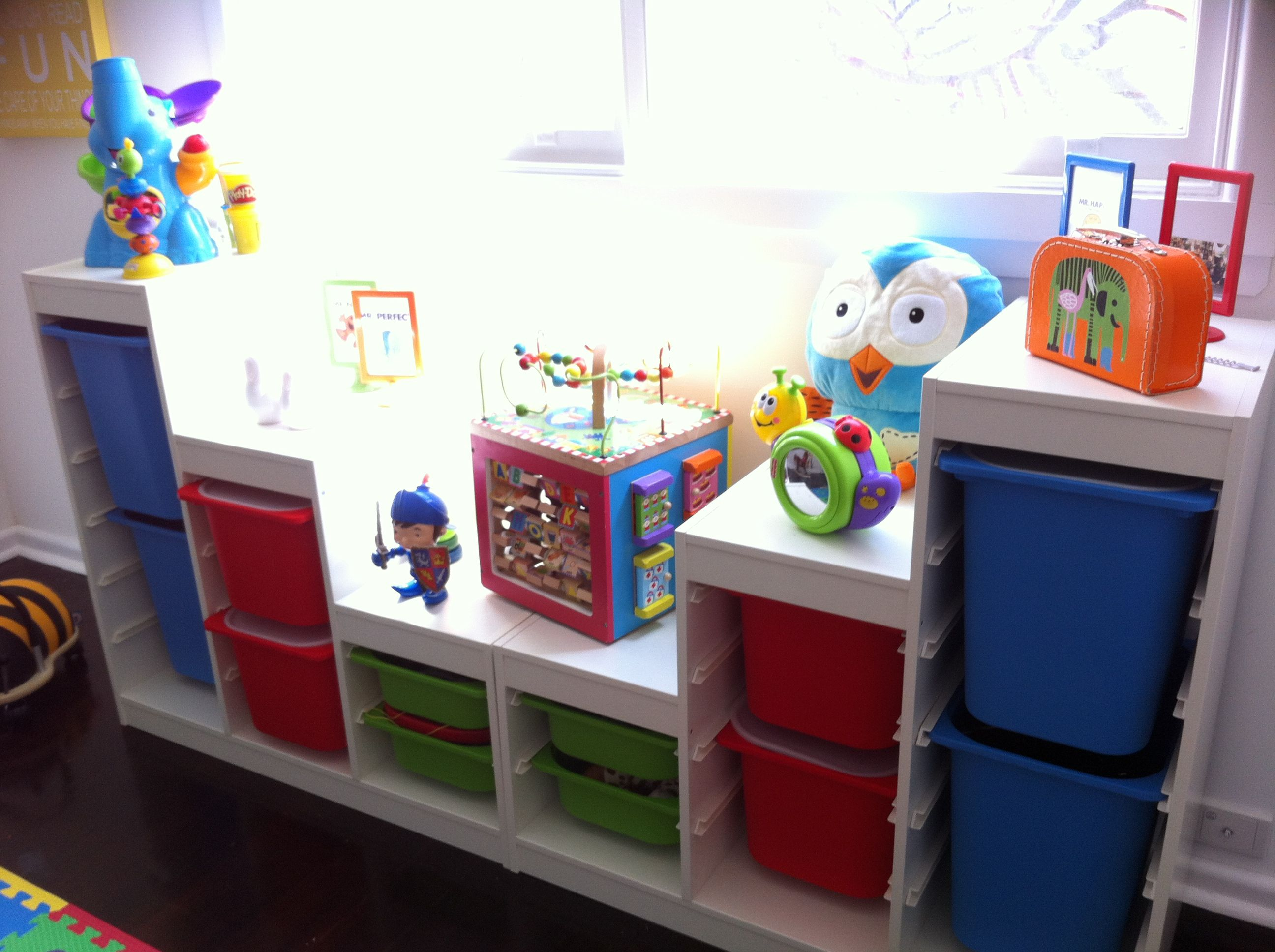 Ikea Trofast Storage Solutions Playroom Storage Ikea Playroom
