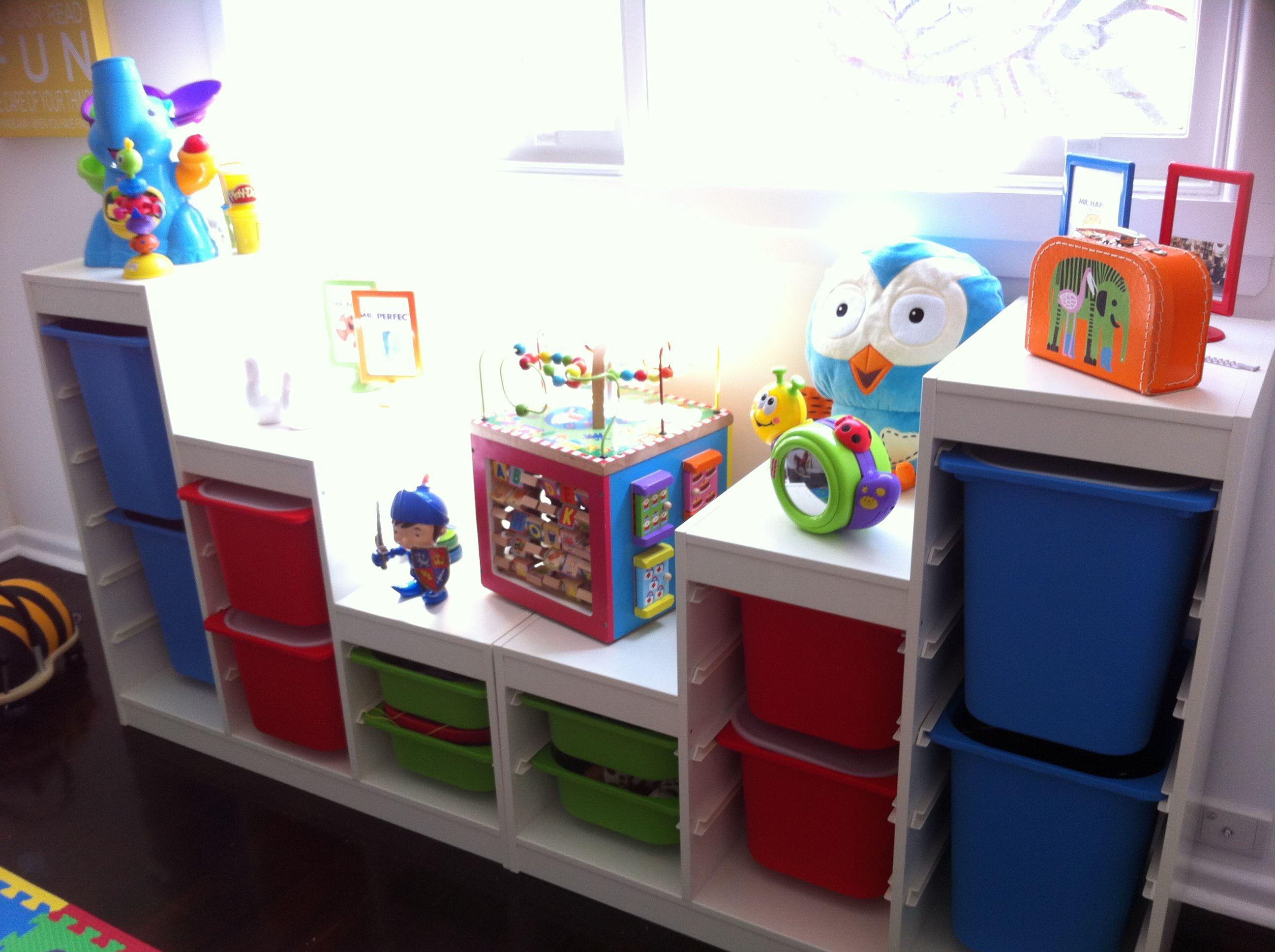 ikea trofast storage solutions astuces ikea pinterest salle de jeux ikea et rangement. Black Bedroom Furniture Sets. Home Design Ideas