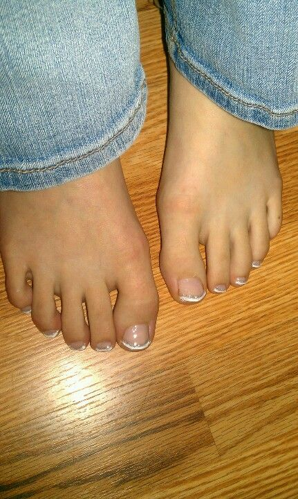 Super cute French tips