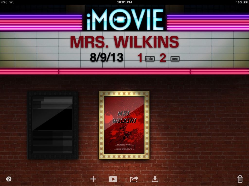 How To Make A Book Trailer On Imovie : Imovie to create a quot get know the teacher movie trailer