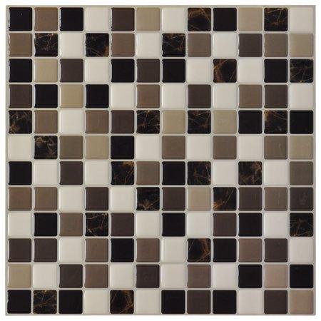 Home Improvement Vinyl Tile Backsplash Stick On Tiles Tiles