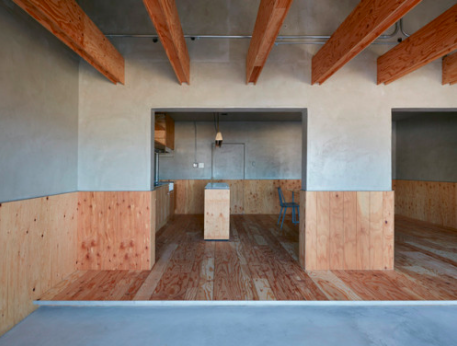 House in Gion, Japan by Suppose Design Office