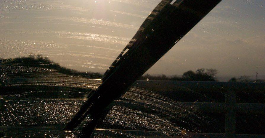 Streaking windshield wipers. Modern windshield wipers have