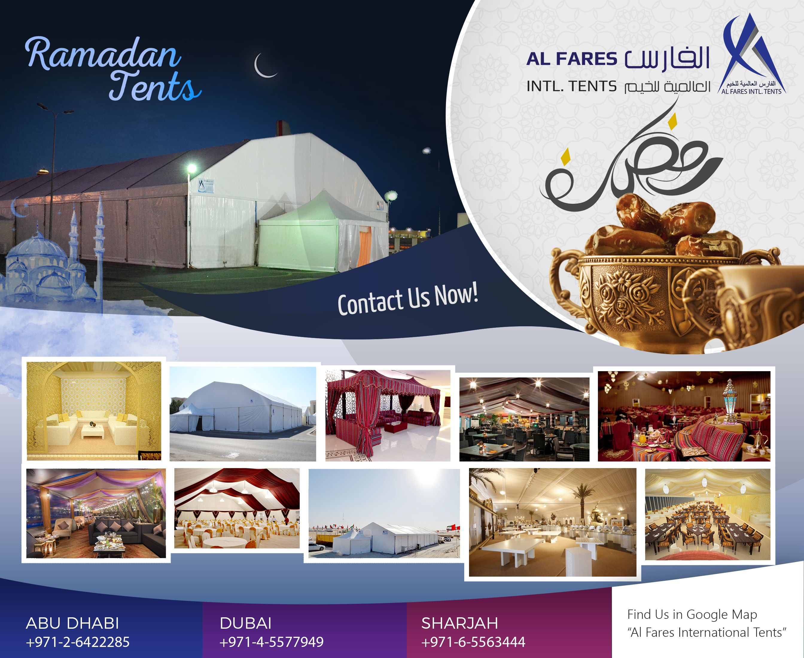 Tent Rental Solutions Middle East