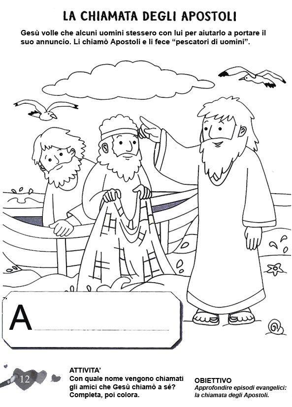 Stampa e colora irc bible crafts bible coloring pages - Artigianato per cristiani ...