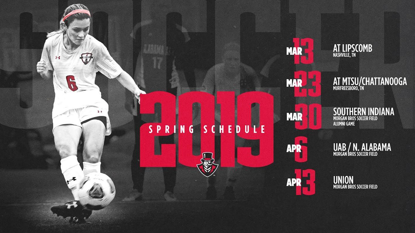 Apsu soccer releases spring schedule with images