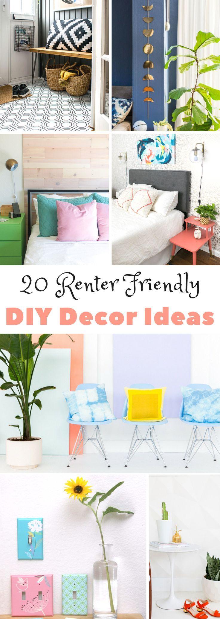 20 Renter Friendly DIY Decor Ideas images